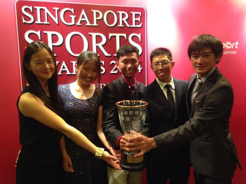 Coach Jackson Ho at Singapore Sports Award 2014