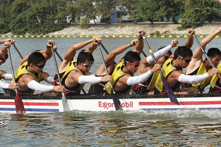 Corporate Dragon Boating