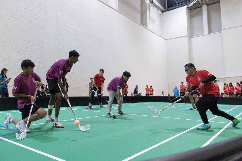 Play Inclusive 2018 Floorball