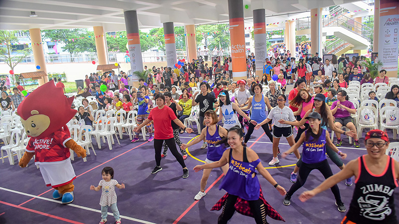 Official Launch of Jurong West Sport in Precinct